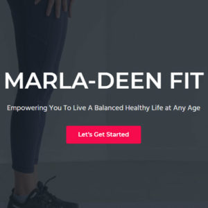 TecAdvocates completed a website renovation for marladeenfit.com