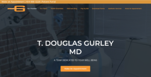 TecAdvocates is proud of the work we did on the website renovation for T. Douglas Gurley MD. Website Design and Website Development by TecAdvocates.