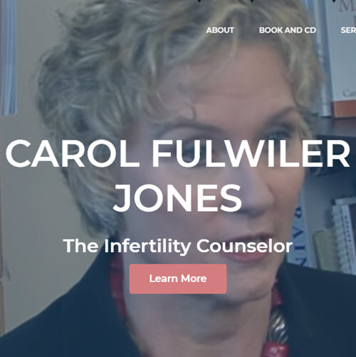 TecAdvocates is proud of the work we did on the new website for Carol Fulwiler, The Infertility Counselor at theinfertilitycounselor.com.