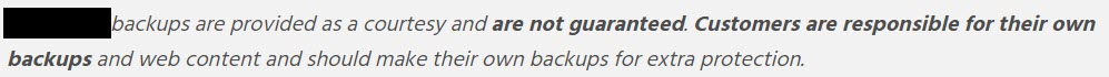 Your Website Backup. Does it exist? Probably Not. by TecAdvocates