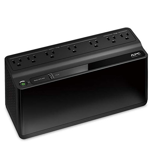 An Uninterruptible Power Supply (UPS) protects computers