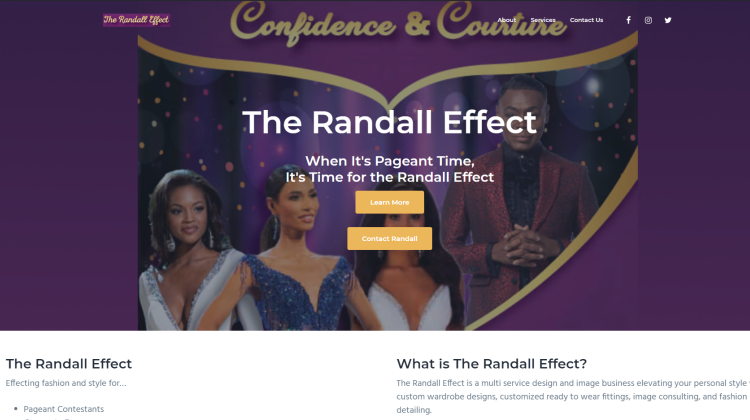 When It's Pageant Time, It's Time for the Randall Effect by Randall Smith